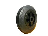 8 inch solid rubber wheel with roller bearing