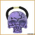 caliente venta de chicas de lujo bandas elásticas del pelo con craneos púrpura