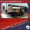 sino HOWO 10 ton asphalt tanker truck ,bulk lpg storage tank for sale