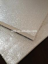 pre-insulated aluminum foil duct board sheet