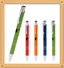 2 in 1 multifunctional pen metal ball pen with highlighter