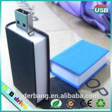 2014hot sell book shape usb flash pen drive cheap wholesale