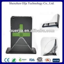 Olja 2014 real leather case for ipad mini ,for apple ipad mini bumper case 360 rotating stand