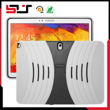 Combo rugged silicone hard case for samsung tab pro 10.1 t520
