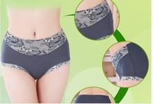 2014 hot new large size woman underwear modal high waist sex panties