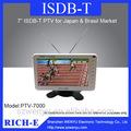 Isdb- t de un segmento digital tv para japón