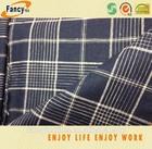 Check fabirc, cotton and linen mixed fabric, short pants and shirting fabric for summer season