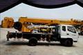 dos unidades de elevación y cabrestantes ygqy8 montados en camiones grúa toneladas 8 con cesta de trabajo