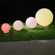 glow beach ball /waterproof IP68 16 color RGB LED ball