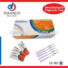 Urine drug test strip/Benzodiazepine(BZO)/DOA multi-drug test panel with competitive price