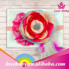 colorful elastic newborn infant headbands with flowers