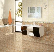 Bathroom tile board wall