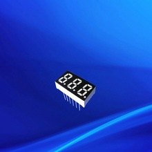 0.31 inch three triple digits red amber white taxi top led display