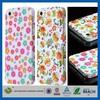 High Quality Art Design Custom skin rubber pc hybrid case for iphone 5c