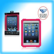 2014 PVC Plastic waterproof cover for ipad mini