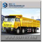 50ton shacman 8x4 side tipper truck
