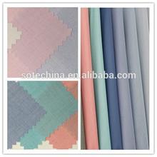 Polyester/cotton blended fashion overalls uniform shirt fabrics cvc