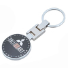 high quality metal promotional ralliart keychain