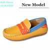 Toddlers high quality leather loafer shoes fashion girls flat leather shoes