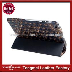 Newest case for ipad mini leather smart folio case for ipad mini