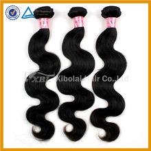 XBL 100% human hair good quality virgin indian natural wavy