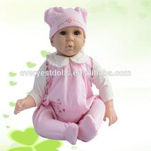 2015 high quality dress up baby dolls,most popular vinyl baby dolls,look alike baby doll