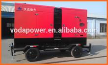 trailer/silent diesel gensets