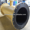 Made in China high wear resistant rubber lined pipe reducer