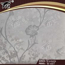 2012 New Design Non-Woven Foamed Sprinkled Gold Wallpaper