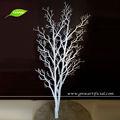 gnw wtr017 artificial de plástico seco galho de árvore decoração cor branca para a janela e uso do casamento