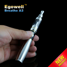 Top quality name brand wholesale distributors 2.5ml capacity adjust airflow atomizer huge vapor e cigarette Breathe A2