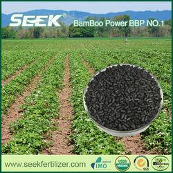 BBP NO.1 Bamboo Charcoal patented organic soil amendments