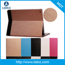 New design l fashion stand shiny leather case for Ipad air /Ipad 5