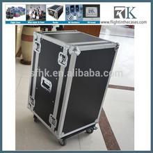 Instrument music 19 inch rack flight cases