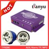 Super powerful anti-theft mp3 player motorized adult tricycles