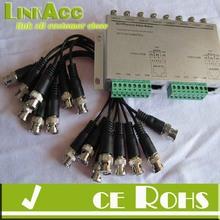 Linkacc-22e 8 Channels Passive UTP Video Transmitter for Surveillance Cameras TP-2044TR-8