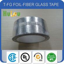fiberglass cloth HVAC / R insulation aluminum foil tape
