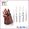 China supplier 420 stainless steel knife with knife holder