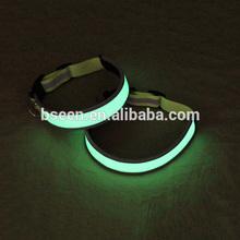 popular wholesale glow in the dark dog collar for dog safe