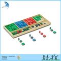 خشبية التعليمية ما قبل المدرسة لعبة الرياضيات en71 المواد مونتيسوري قسائم لعبة
