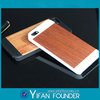 New Arrival Wood PC Case for iPhone 5,Wood Plastic Cover Case for iPhone 5S