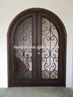 Radius Front Wrought Iron Entry Door FD-284