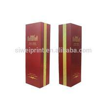 cheap custom printed cardboard wine box package design