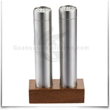 3PCS Cheap Stainless Steel Seasonal Cruet Jar Set