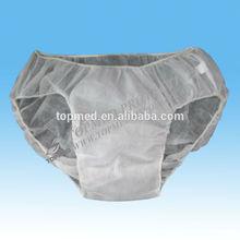 OEM Nonwoven disposable Paper pants,/brief/panty/bra