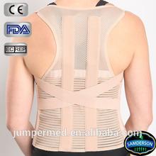 elastic back support belt posture brace with six stays