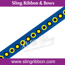 "Wholesale 1"" Halloween Dot Printed Ribbon"