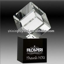 New crystal cube corporate gift souvenir