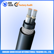 Double cores 2*1.0MM Fire resistant Marine flexible cable cable making equipment