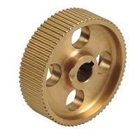 Brass/Bronze/Copper Precision Machined Timing Belt Pulley China Supplier